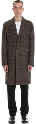 MACKINTOSH Stanley Gm Coat In Beige Wool