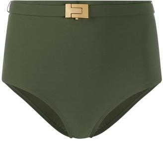 Tory Burch high-rise bikini briefs