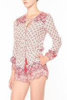 Cotton Candy Paisley Romper