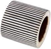 Mela Artisans Pinstripe Napkin Ring - Black/White