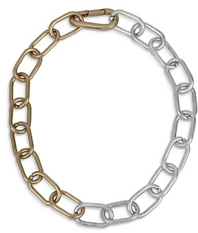 AllSaints Chunky Link Statement Necklace, 18
