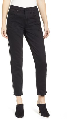 Blanknyc Denim High Waist Side Stripe Ankle Skinny Jeans