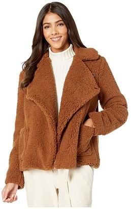 BB Dakota Soft Skills Fleece Jacket (Camel) Women's Clothing