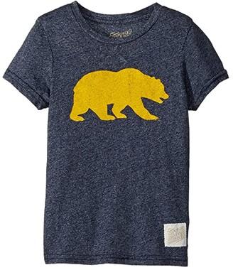 Original Retro Brand The Kids Cal Bear Mocktwist Tee (Little Kids/Big Kids) (Mocktwist Navy) Boy's T Shirt