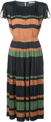 Ulla Johnson Alessa striped midi dress