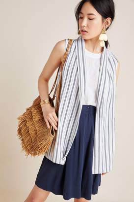 Cupcakes And Cashmere Eliza Striped Vest