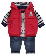 Disney George Tigger Gilet, Top and Jeans Set