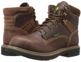 John Deere Waterproof 6 Lace-Up Soft Toe Men's Boots