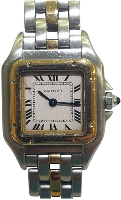 Cartier Panthere Grey gold and steel Watches