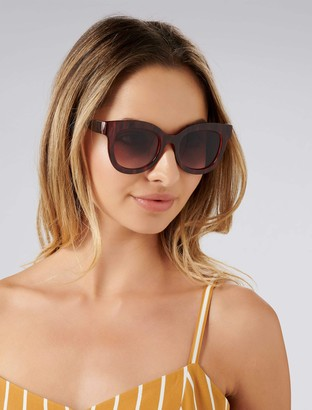 Forever New Bailey Sunglasses - Plum - 00