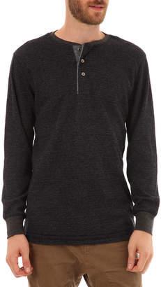 Px Clothing Men's Harper Thermal Henley Shirt