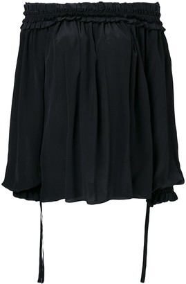 Haider Ackermann Sophora off-the-shoulder blouse