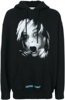 Off-White Screaming Girl Over hoodie - men - Cotton - S