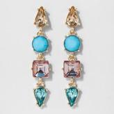 SUGARFIX by BaubleBar Geometric Gem Drop Earrings