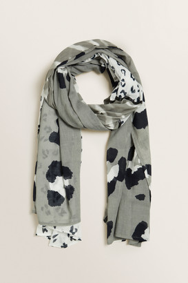 Seed Heritage Patchwork Animal Scarf