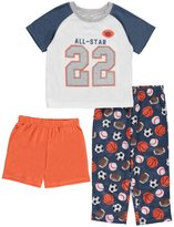 "Carter's Little Boys' Toddler ""Sleep All-Star"" 3-Piece Pajamas"