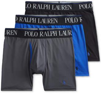 Polo Ralph Lauren Men 3-Pk. 4-d Flex Cool Microfiber Boxer Briefs
