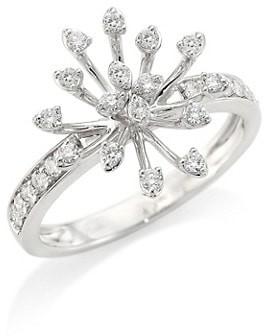 Hueb Luminus 18K White Gold & Diamond Ring
