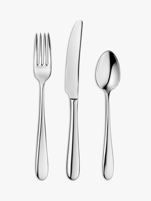 John Lewis & Partners Dome Cutlery Set, 2 Place Settings