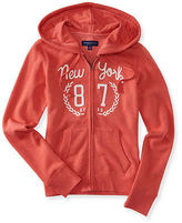Aeropostale Womens 87 Laurel Full-Zip Hoodie