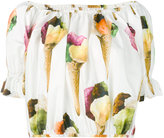 Dolce & Gabbana ice cream print top