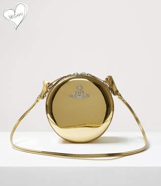Vivienne Westwood Johanna Round Bag Gold