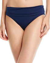 Jantzen Fold-Over Swim Bottom, Blue