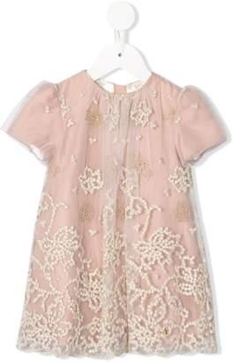 Roberto Cavalli Junior embellished short sleeve dress