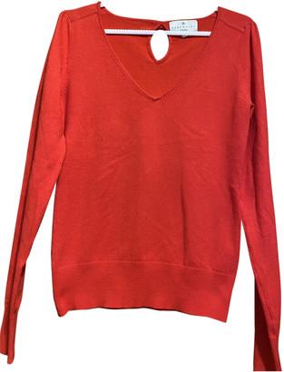 Essentiel Antwerp Red Cotton Knitwear