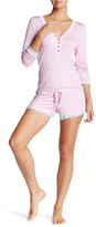 Honeydew Intimates Long Sleeve Lace PJ Set