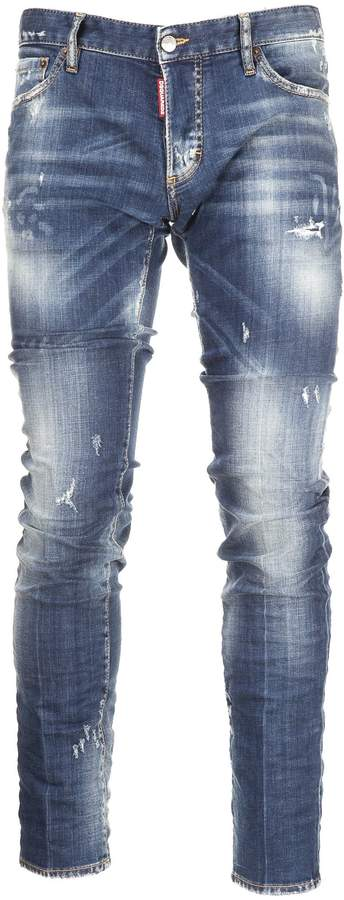 DSQUARED2 2 Distressed Jeans