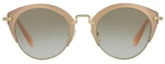Miu Miu MU 53RS 390940 Sunglasses Gold