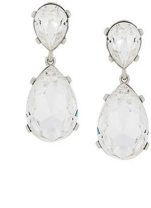 Kenneth Jay Lane Crystal Teardrop Earrings