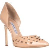Charles by Charles David Charles David Contessa D'orsay Pumps, Nude Patent.