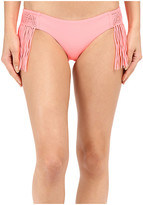 Luli Fama Heart Of A Hippie Weave Fringed Moderate Bottom