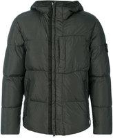 Stone Island padded hood jacket