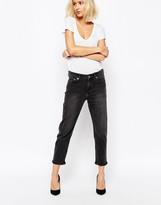 Weekday Ami Mid Waist Crop Jean