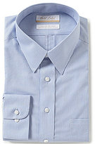 Roundtree & Yorke Gold Label Big & Tall Non-Iron Regular Full-Fit Point Collar Striped Dress Shirt