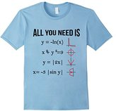 All You Need Is Love Funny Math Teacher Engineer Gift Tshirt