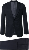 Giorgio Armani notched two-piece suit - men - Acetate/Cupro/Wool - 46