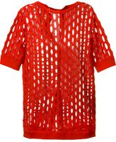 Marni perforated knit top