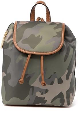 Tommy Hilfiger Julia Flap Camo Print Backpack