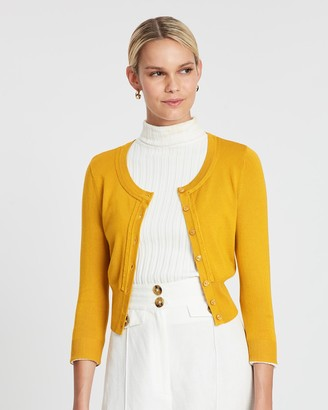 Review Chessie 3/4 Sleeve Cardigan
