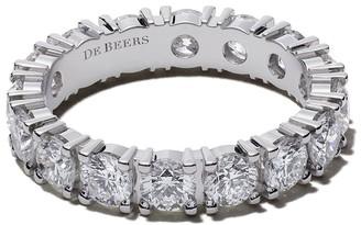 De Beers Platinum DB Classic Full Eternity diamond 3.5mm band