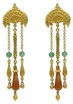 Ben-Amun Silk Road Empress Long Drop Earrings