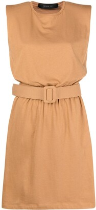 FEDERICA TOSI Belted Jersey Dress