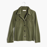 Madewell Northward Cropped Army Jacket