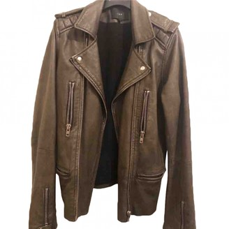 IRO Green Leather Jackets