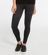 Spanx Plus Leopard-Print Seamless Leggings