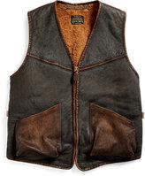 Ralph Lauren Shearling Full-zip Vest
